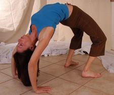 bridget green in yoga backbends pose