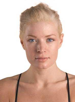 Help face sagging skin with facial contouring for facial beauty