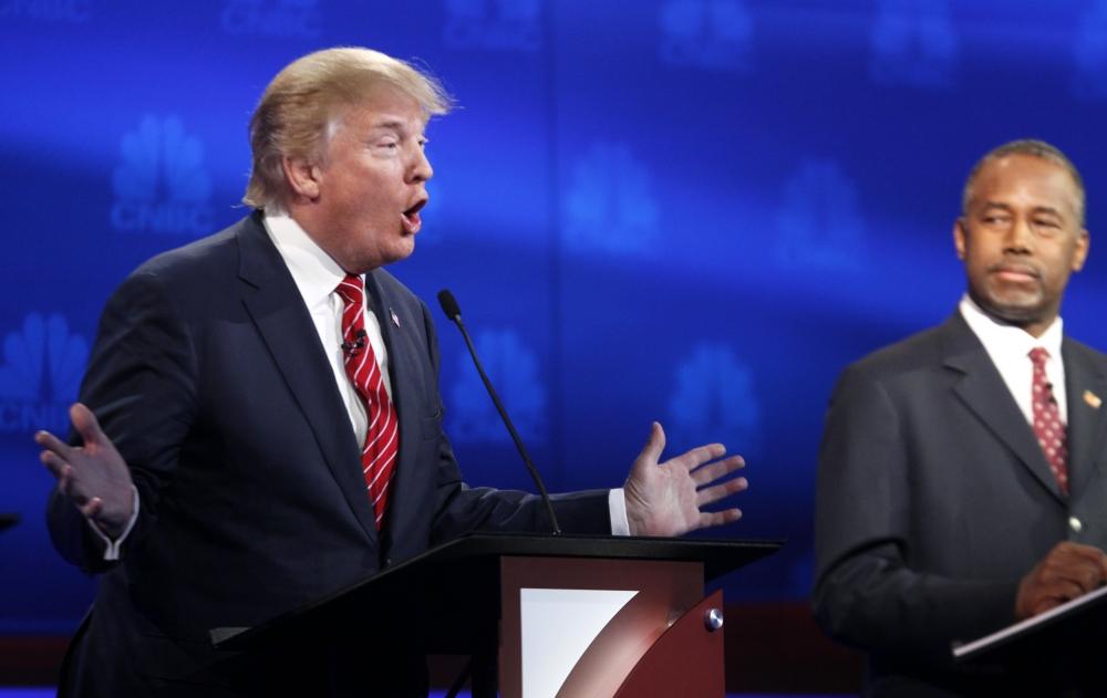 Donald Trump on Ben Carson's pathologicaldisease being non-curable