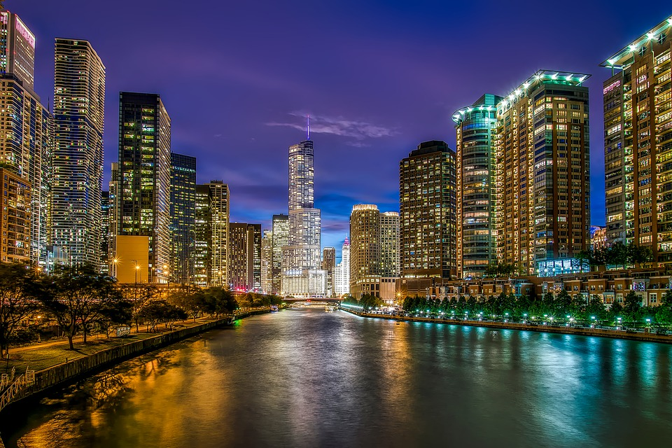 Chicago Illinois the windy city