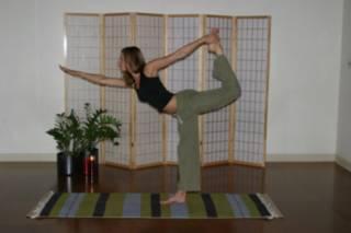 bridget green in yoga pose