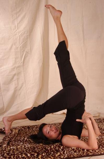 bridget green yoga pose